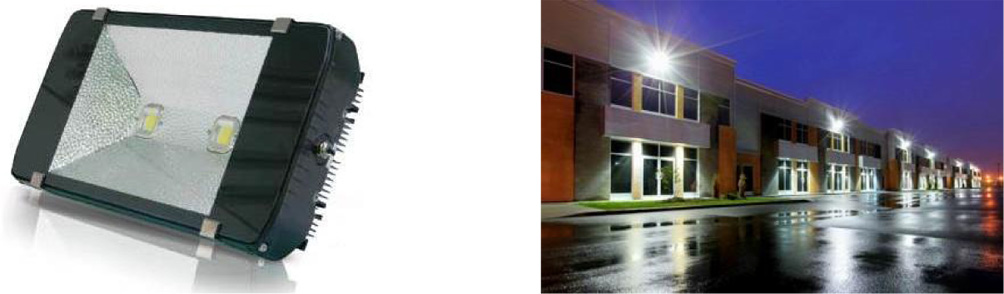 150 Watt LED Flood Light - IPART and VEET Approved - on site