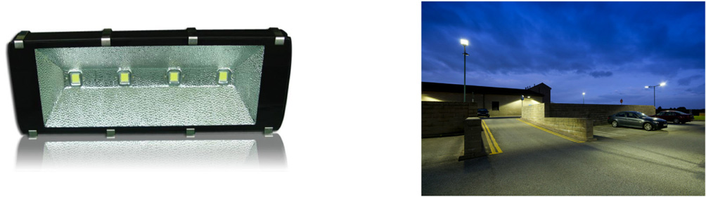 200 Watt LED Flood Light - IPART and VEET Approved - on site