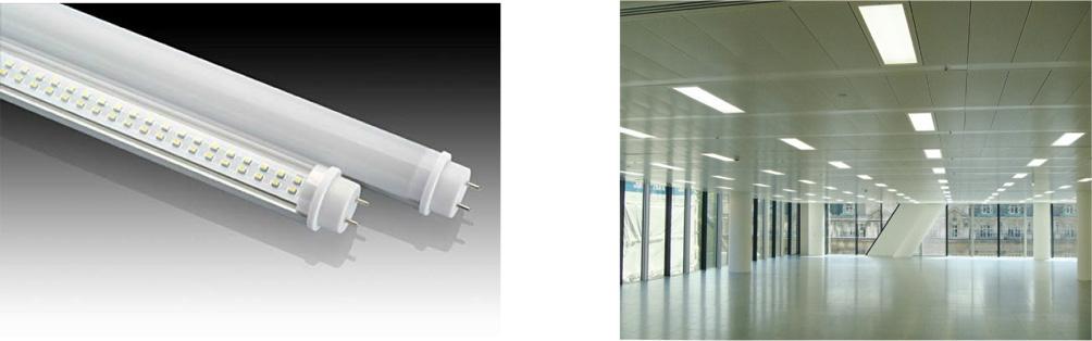 15 Watt T8 LED Tube with optional occupancy sensor