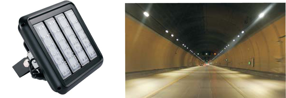 120 Watt LED Tunnel Lighting