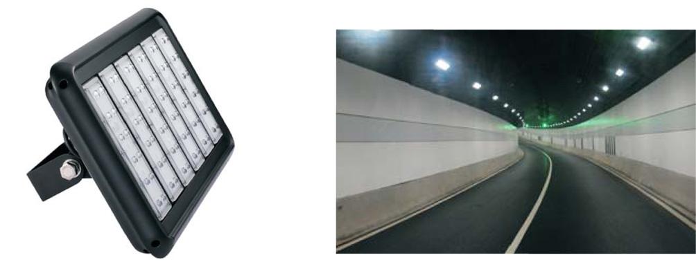 180 Watt LED Tunnel Lighting