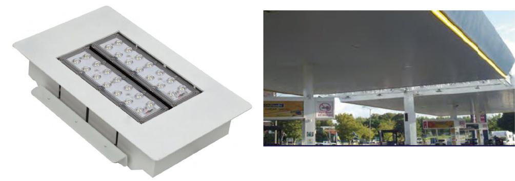 160 Watt LED Low Bay Recessed Light