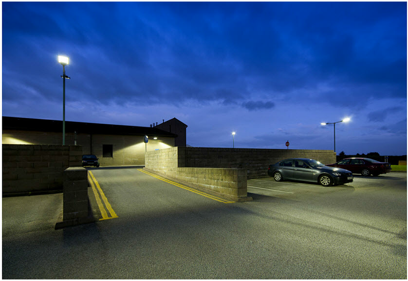 200 Watt LED Floodlight on site - IPART and VEET Approved