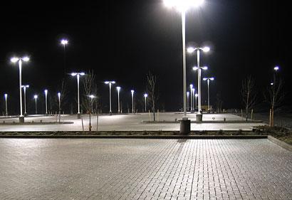LED Lighting in Showroom