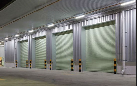LED Weatherproof Batten Light - outside of warehouse factory