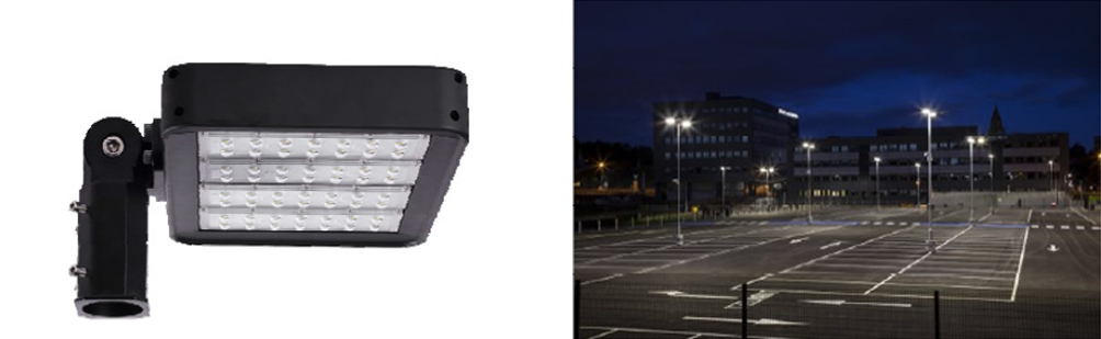 160 Watt LED Pole Mount Flood Light
