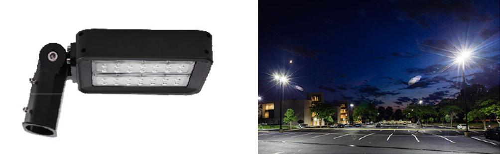 80 Watt LED Pole Mounted Flood Light