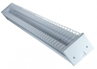 LED T8 Double Bare Batten Fitting 1200mm