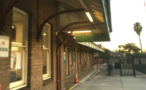 LED Emergency Weatherproof Batten Lights - Railway Station