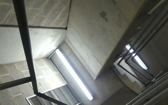 LED Emergency Weatherproof Batten Lights - Undercover Carpark