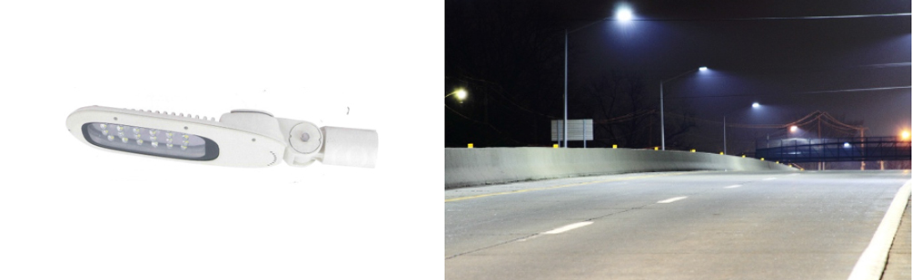40 Watt LED Street or Carpark Light - Solar Powered