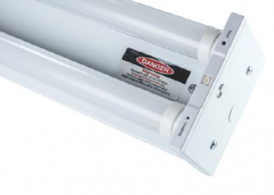 2 x 10 Watt LED Twin Batten 600mm Emergency