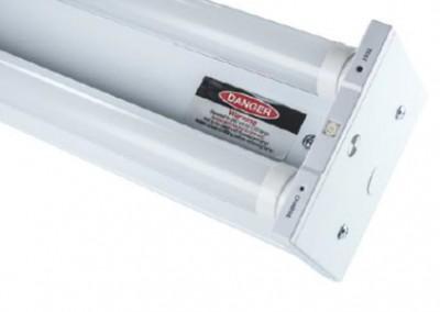 2 x 10 Watt LED Twin Batten 600mm Emergency
