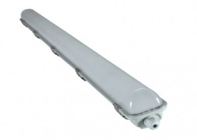 1 x 18 Watt LED Weatherproof Batten 1200mm with Sensor