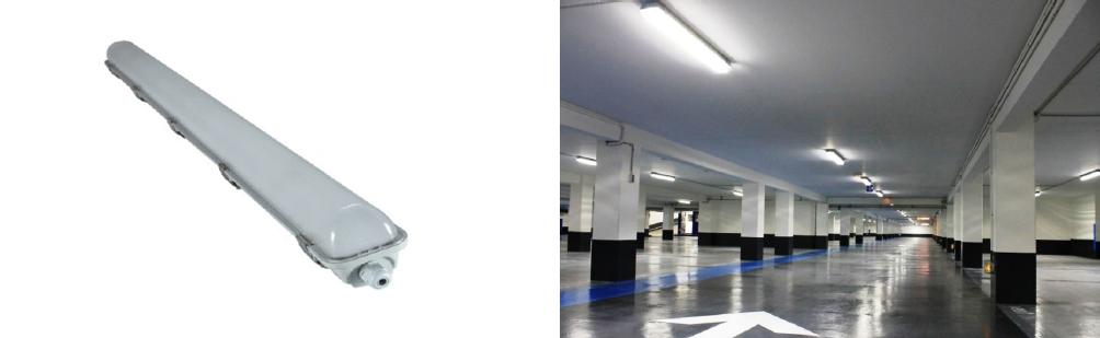 1 x 18 Watt Weatherproof Batten 1200mm - IPART & VEET Approved