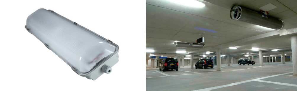 2 x 18 Watt LED Weatherproof Batten 1200mm - IPART & VEET Approved