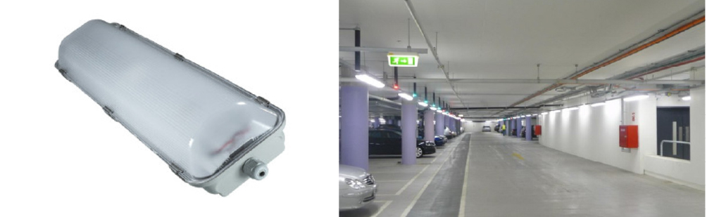 2 x 25 Watt LED Weatherproof Batten 1200mm - IPART and VEET Approved