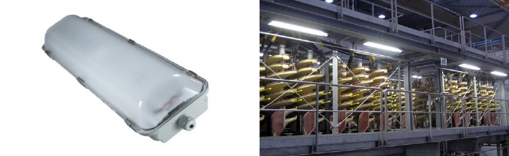 2 x 25 Watt LED Weatherproof Batten