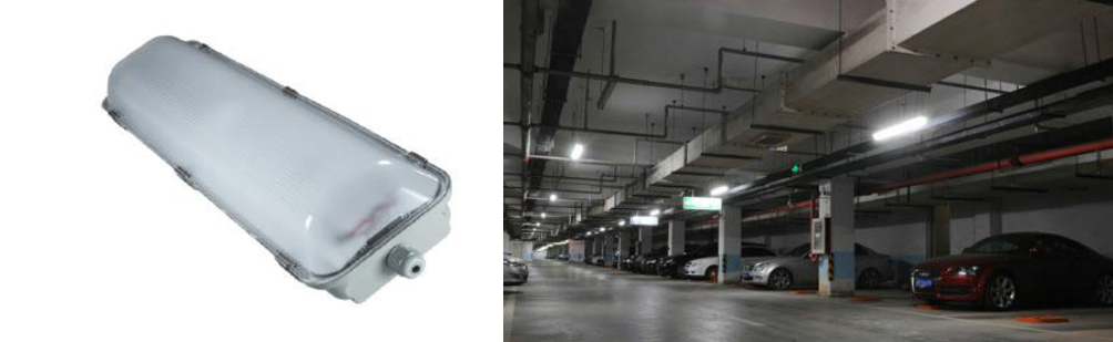 2 x 9 Watt LED Weatherproof Batten 600mm - IPART & VEET Approved