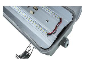 2x9 Watt LED Weatherproof Batten - Emergency