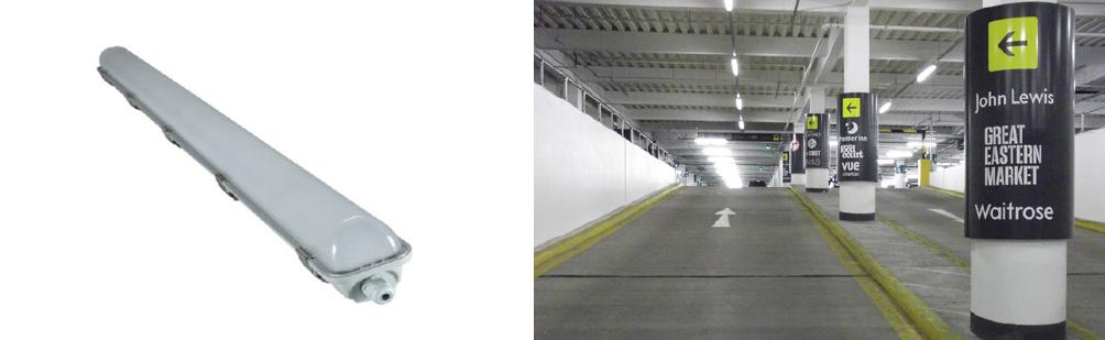 2 x 18 Watt LED Weatherproof Batten - Emergency