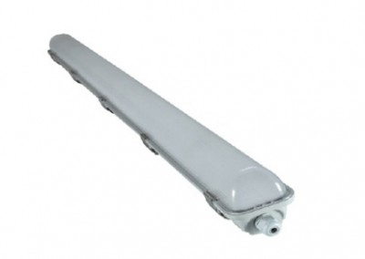 2 x 18 Watt LED Weatherproof Batten 1200mm Emergency