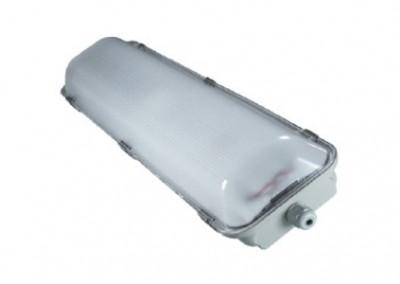 2 x 9 Watt LED Weatherproof Batten 600mm Emergency