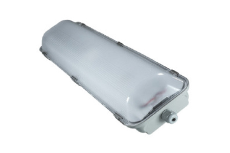 1x12 Watt LED Weatherproof Batten Light 600mm Emergency