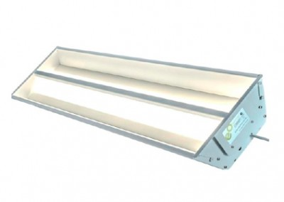 1200 x 300mm Recessed T Bar Troffer (Cyanosis)
