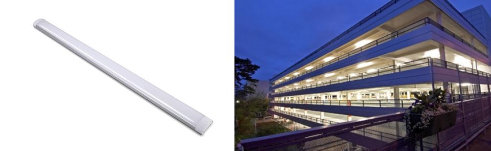 40 Watt LED Slimline Surface Mount Batten Light 1200mm