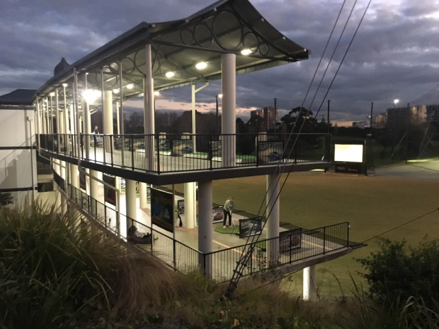 Moore Park Golf Driving Range LED lights
