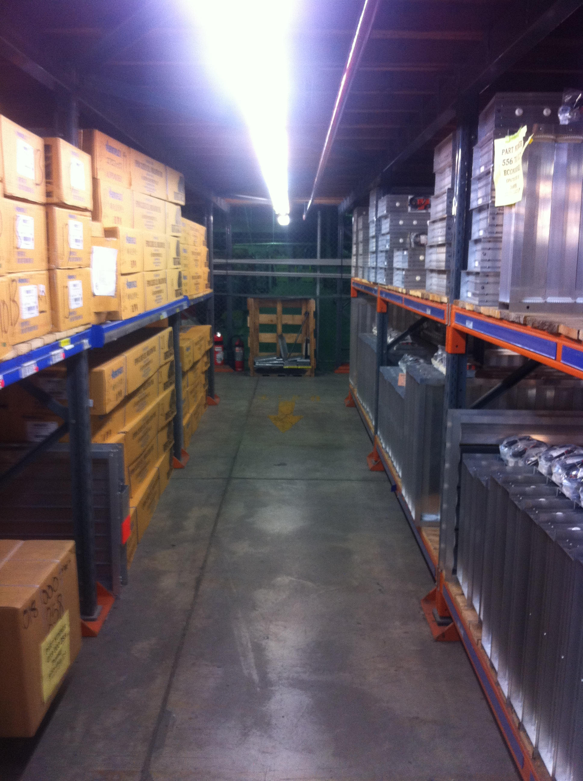 Temperzone Warehouse LED Lighting