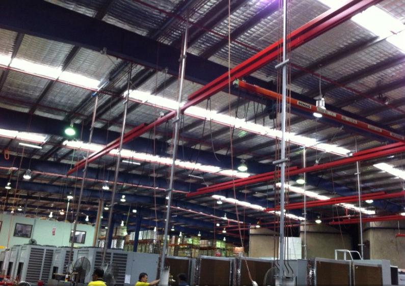 Temperzone Warehouse - LED Lighting