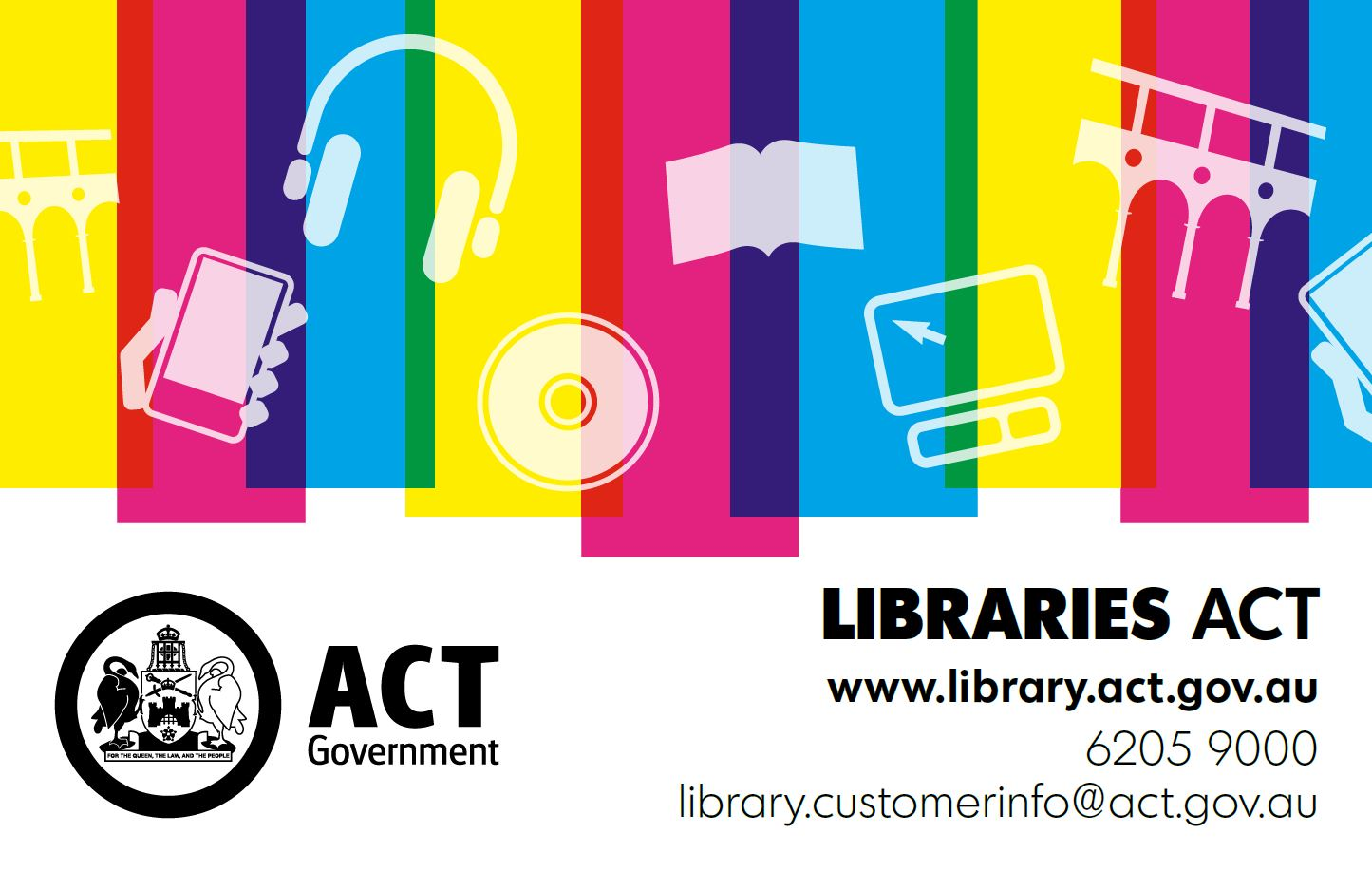 ACT Govt library logo