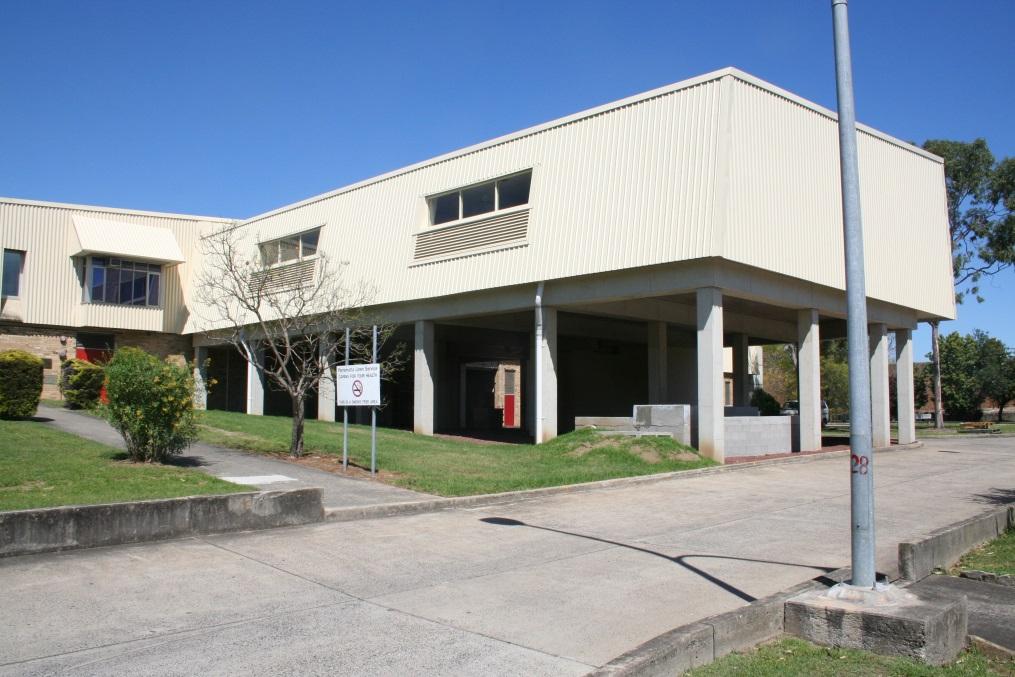 HealthShare Parramatta Linen - LED Lighting - Front Building