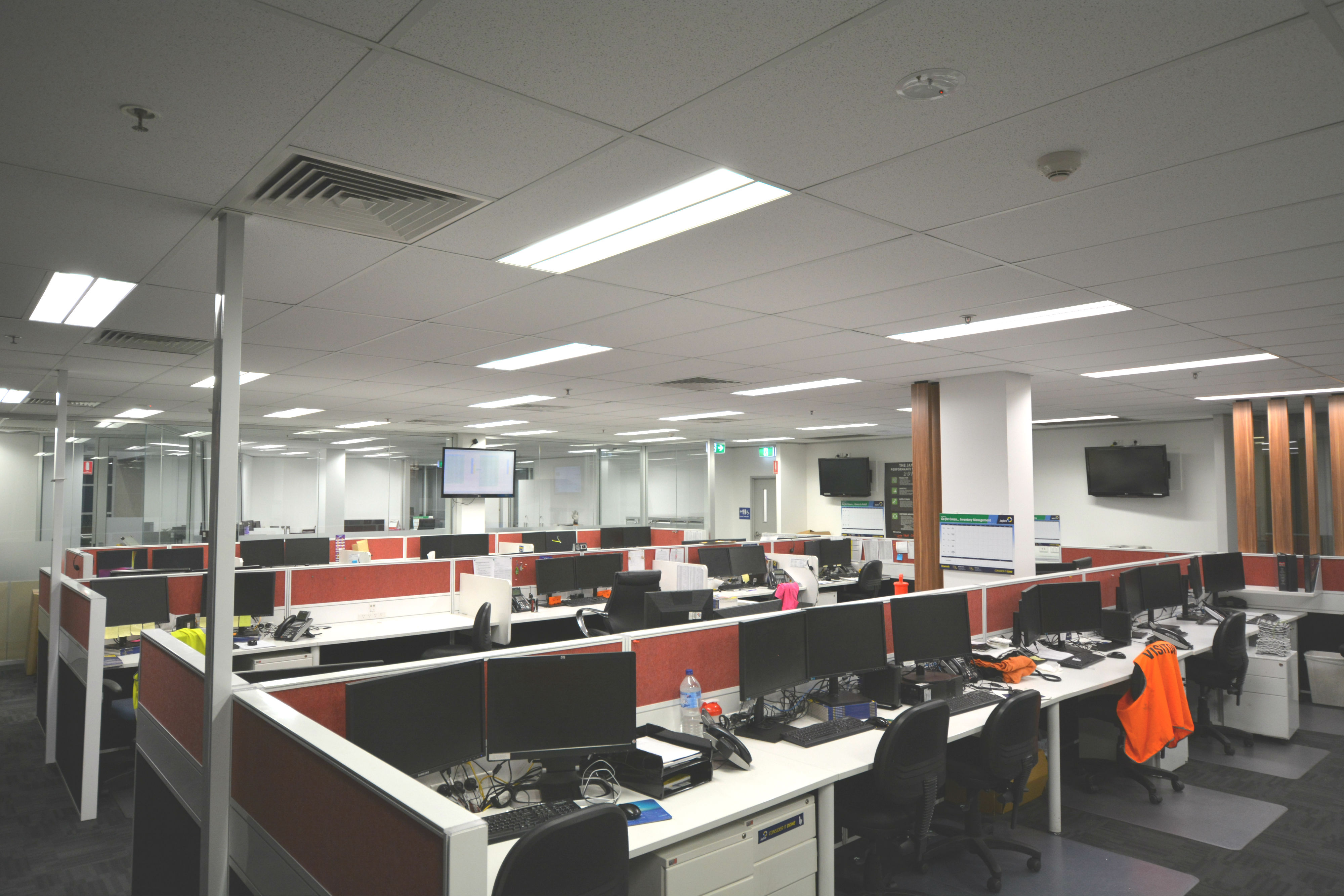 Jaybro Offices LED Integrated Linear Troffer Lights