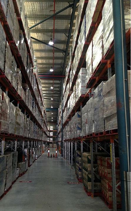 Snackbrands Smithfield facility - LED lighting upgrade