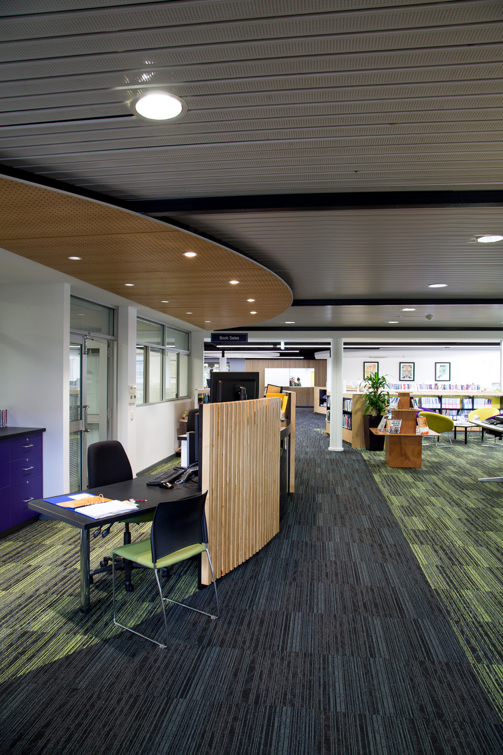 Northern Beaches TAFE campus - LED Lighting in common area
