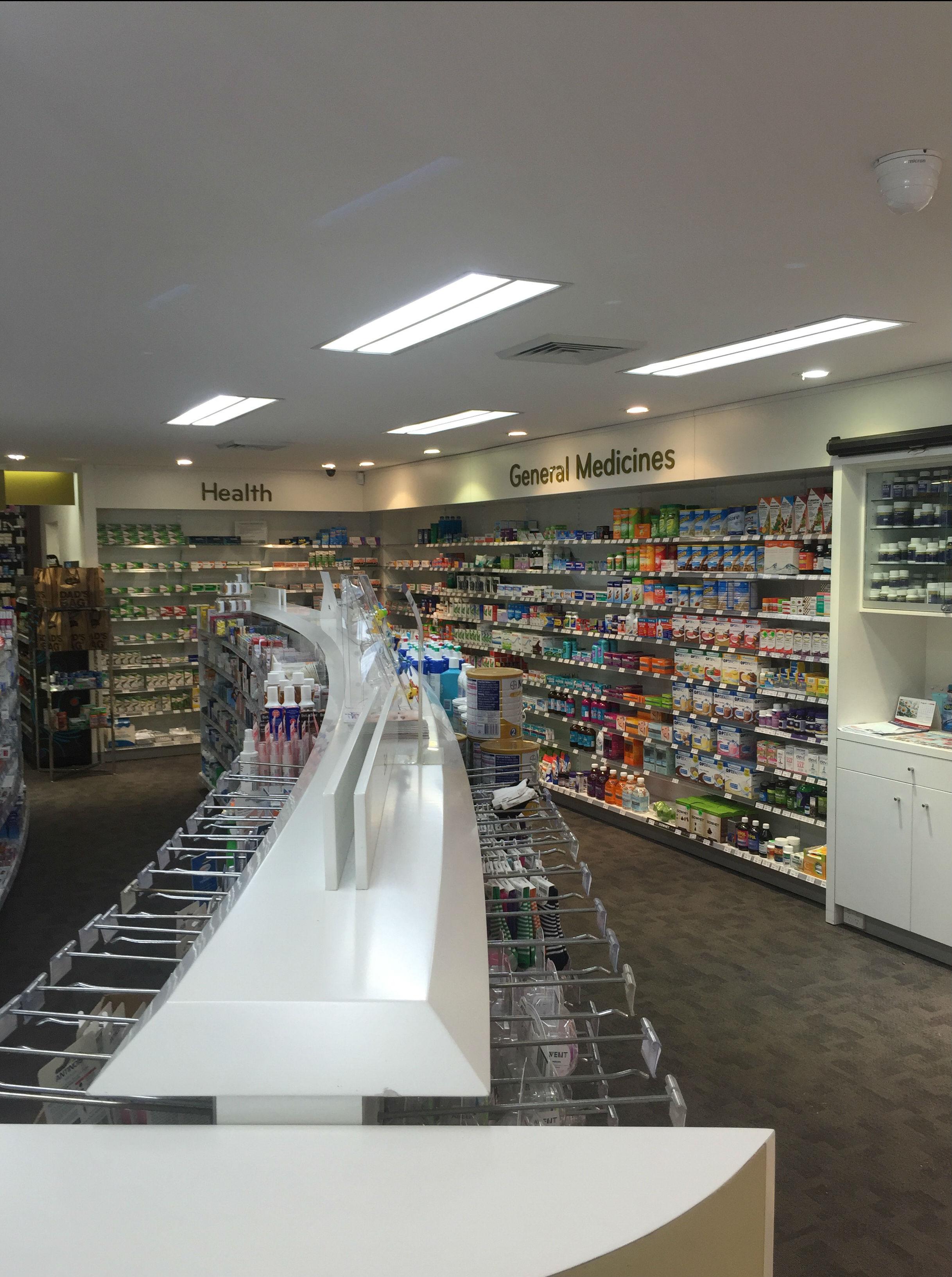 Friendly Pharmacy Dural LED lighting