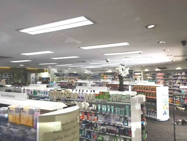 Friendly Pharmacy Dural LED lighting