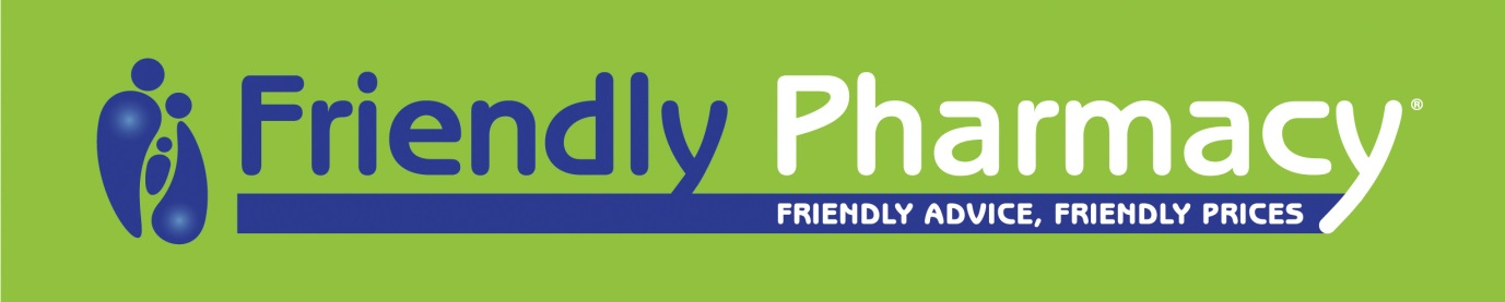 Friendly Pharmacy Dural Logo