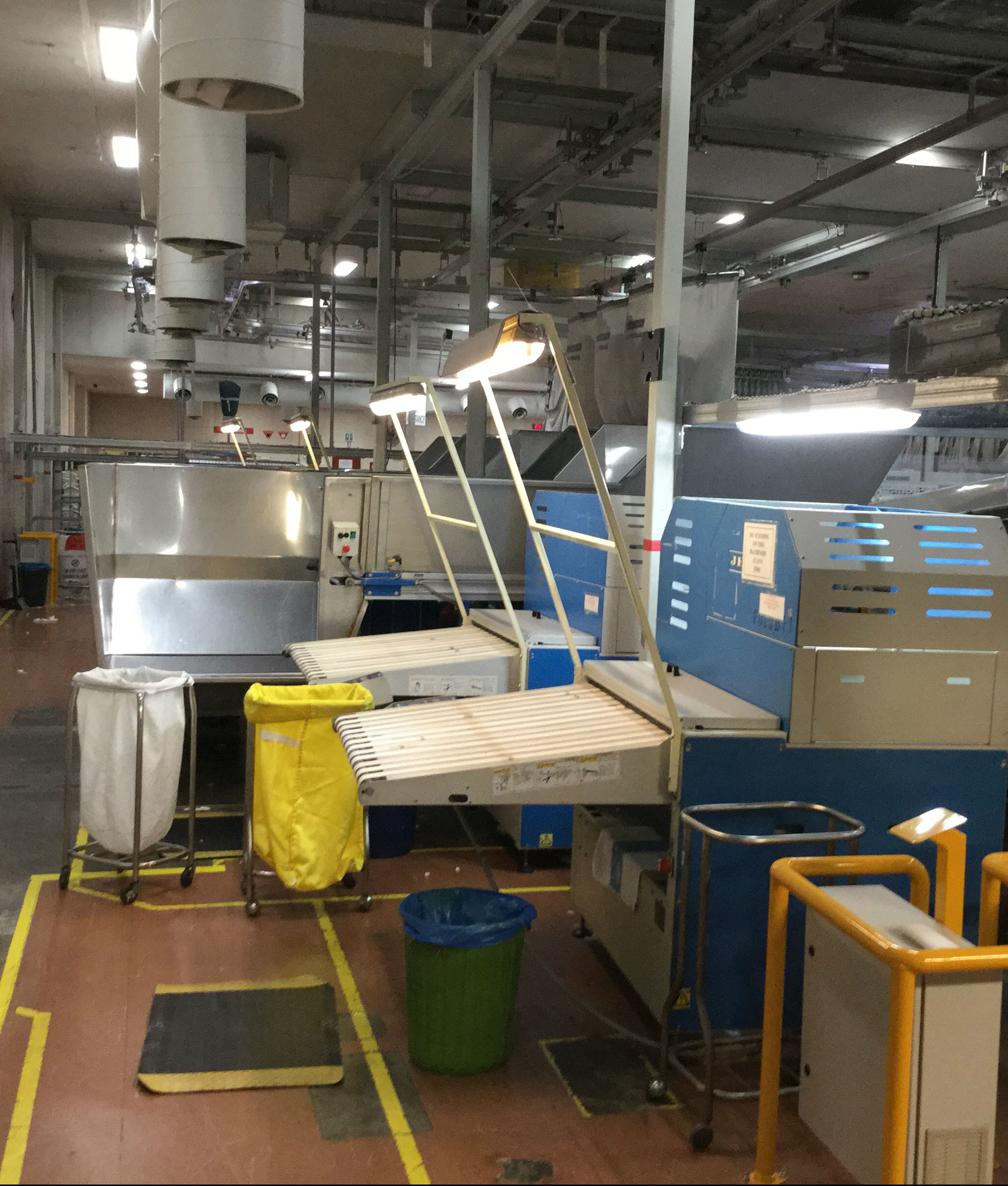 HealthShare NSW Government - Parramatta Linen facility LED lighting upgrade