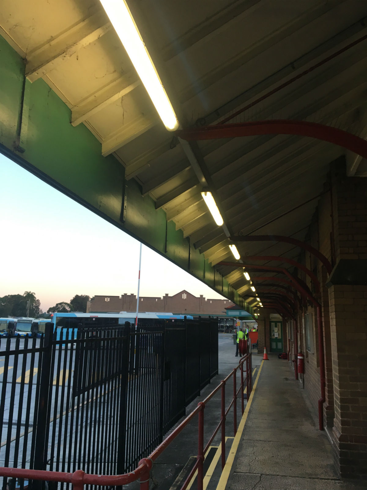 State Transit Authority - Bus Depot Tempe LED Weatherproof Batten Lights