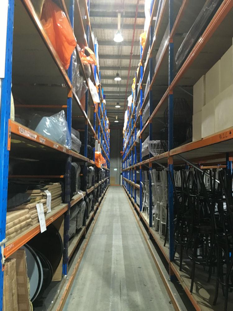 Valiant Office Furniture - LED Lighting in Warehouse