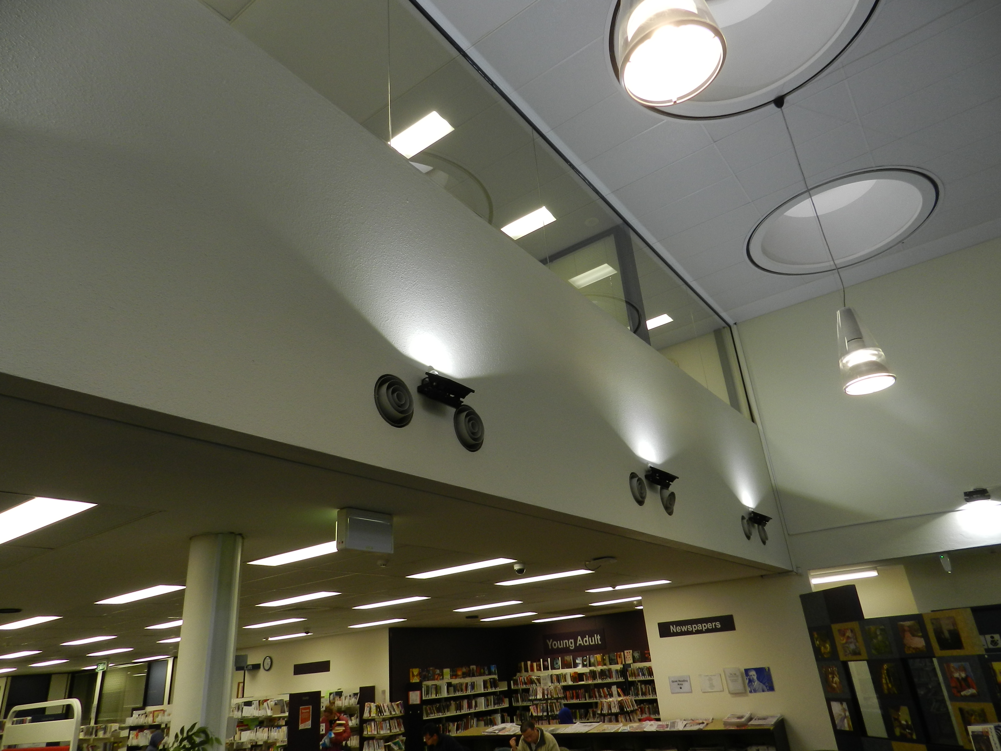 Woden Library ACT LED Lighting Upgrade