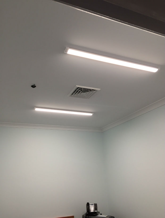 Interrelate Dubbo Office - LED Lighting Project