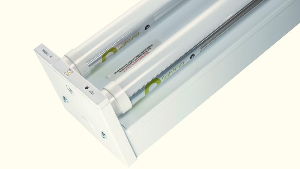 2 x 20 Watt LED Batten 1200mm Emergency