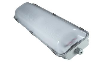 2 x 25 Watt LED Weatherproof Batten 1200mm Emergency