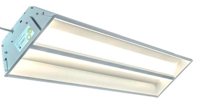 20 Watt LED Integrated Linear Troffer Light