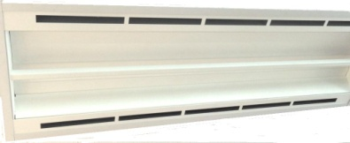 20 Watt LED Integrated Linear Troffer - optional air handling frame